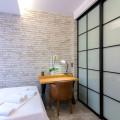 Σιδερένιο κρεβάτι Airbnb